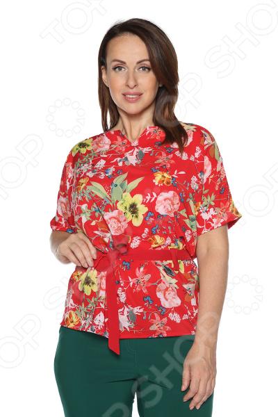 Блуза ТРЕНД «Нектар любви». Цвет: красный блуза тренд безупречная цвет синий бирюзовый