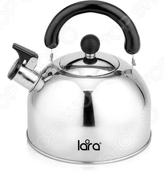 Чайник со свистком LARA LR00-40 чайник lara lr00 62