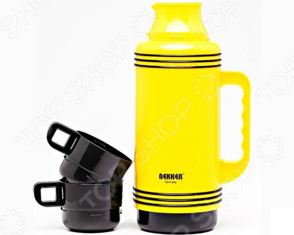 Термос Bekker Double Cup. В ассортименте