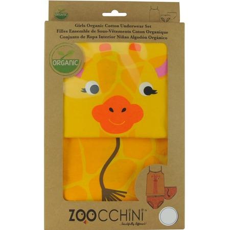 Купить Комплект нижнего белья для девочки Zoocchini «Жираф»