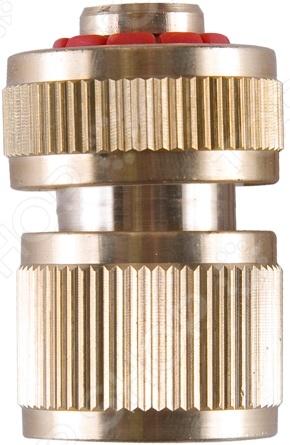 Коннектор с автостопом Archimedes 90943 коннектор ремонтный для шланга truper пластиковый мама 1 2