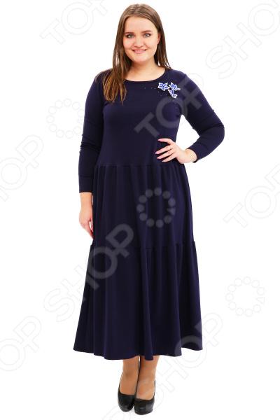 Платье Матекс «Мисс известность». Цвет: синий туника матекс филадельфия цвет синий