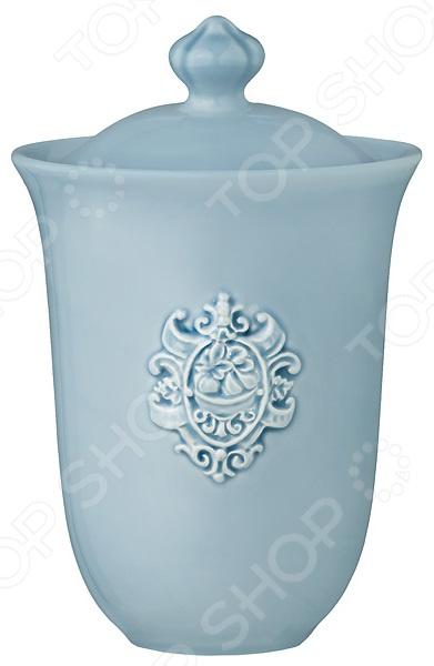 Банка для сыпучих продуктов Nuova Cer «Аральдо» NC8300-CRZ-AL заварочный чайник голубой nuova cer аральдо nc8304 crz al