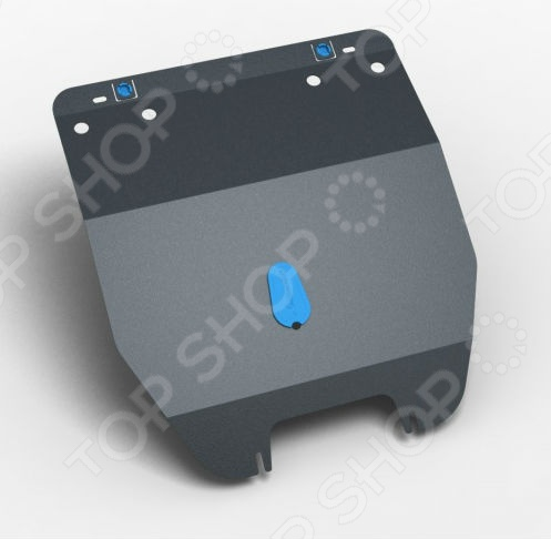 Комплект: защита КПП и крепеж NLZ Chevrolet Niva 2009 (2 мм): 1,7 бензин МКПП