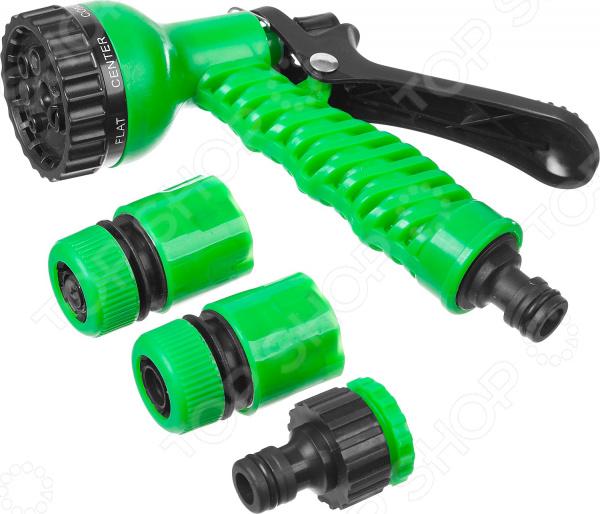 Пистолет-распылитель с соединителями и адаптером Росток 427368 адаптер внутренний росток 426357