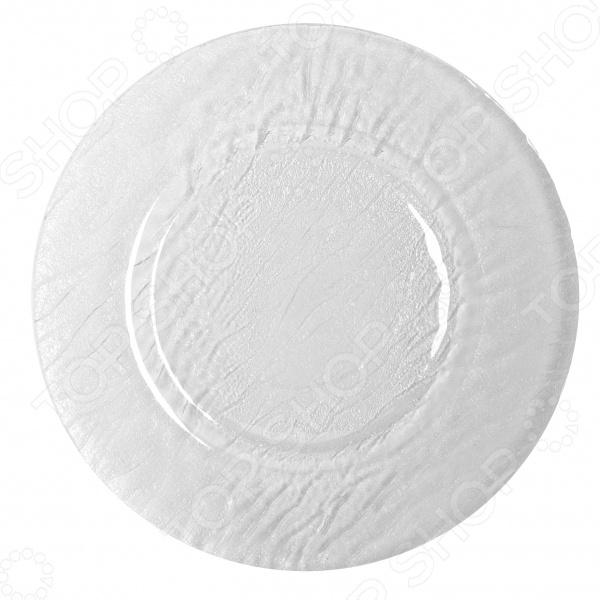 Тарелка сервировочная Luminarc Minerale сервировочная тележка для подачи торта на колесах купить в екатеринбурге