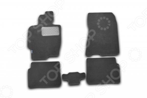 Комплект ковриков в салон автомобиля Novline-Autofamily Haima 3 2010 cofret кофр для хранения классик цвет черный 30х35х45 см