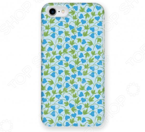 Чехол для iPhone 5 Mitya Veselkov «Сердца-растения» чехол для iphone 7 plus mitya veselkov сердца растения