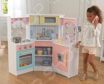 Кухня детская KidKraft «Делюкс» детская кухня kidkraft игровая кухня для девочки из дерева модерн modern country kitchen