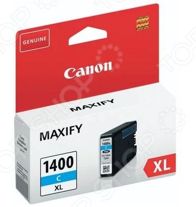 Картридж струйный Canon PGI-1400XL картридж canon pgi 1400xl bk 9185b001