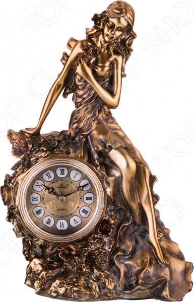 Часы настольные «Престиж». Дизайн: девушка