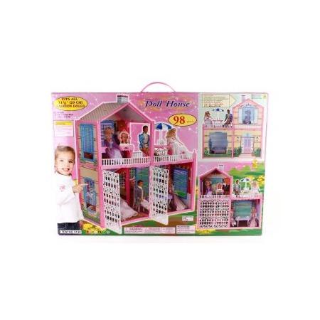 Купить Домик кукольный Shantou Gepai «Дол Хауз»