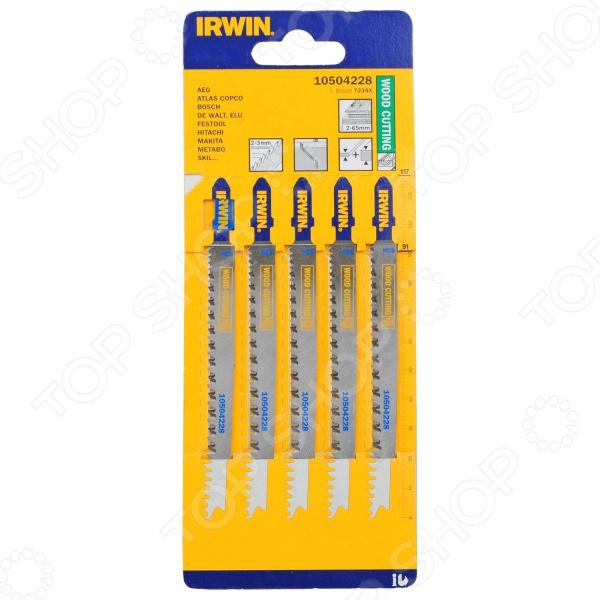 Пилки для электролобзика IRWIN T234X HCS цена