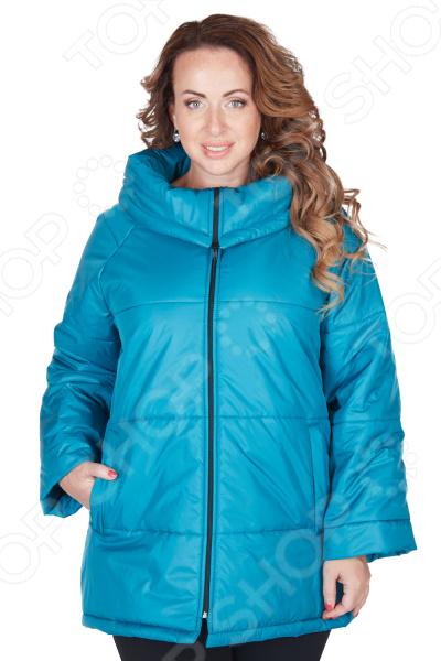 Куртка СВМ-ПРИНТ «Леонсия». Цвет: бирюзовый