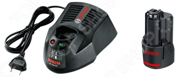 Набор из зарядного устройства и аккумуляторной батареи Bosch 1600Z00041 bosch 1600 a 00159