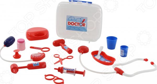 Набор доктора игрушечный Полесье в чемоданчике №3