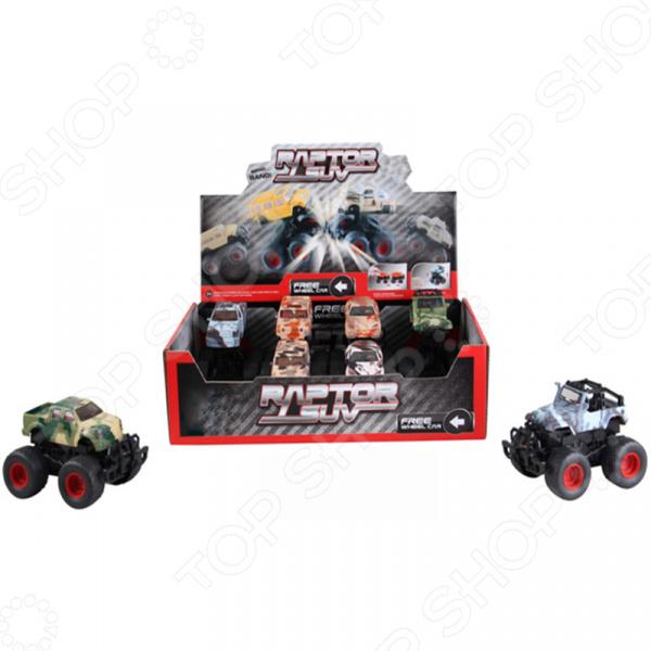Машинка инерционная игрушечная Yako с пружинным механизмом 1724526. В ассортименте