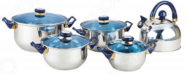 Набор посуды Bekker BK-4605 набор посуды bekker classic 9 предметов bk 4605
