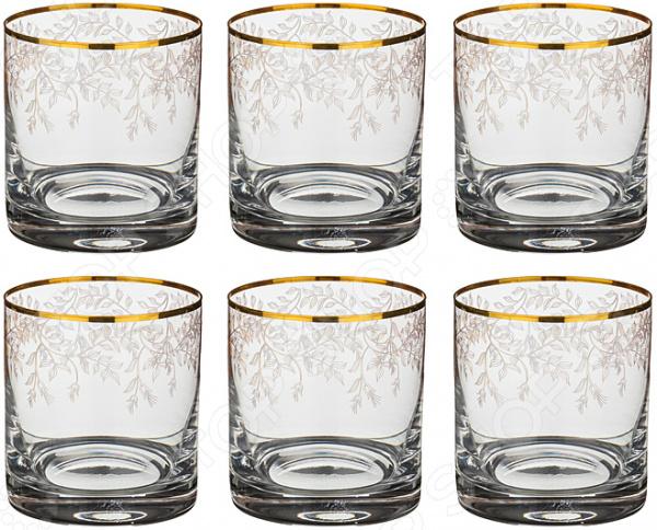 Набор стаканов Bohemia Crystal «Анжела» 674-507