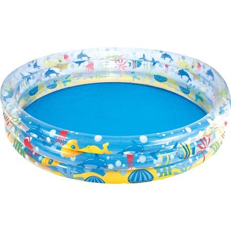 Купить Бассейн надувной Bestway «Подводный мир» 51005B