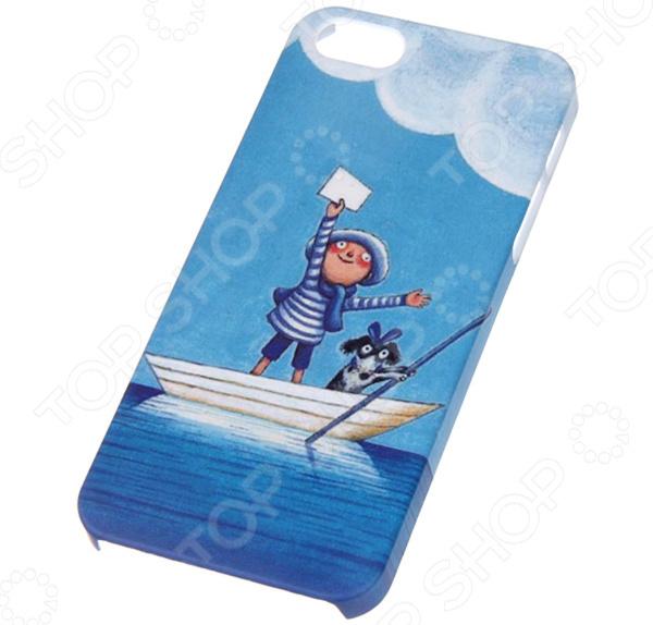 Чехол для iPhone 5 Mitya Veselkov Kafkafive-08 mitya veselkov тюльпановый принт чехол для apple iphone 5 5s