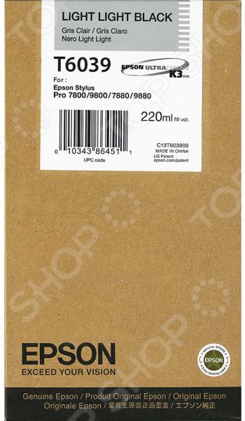 Картридж Epson T6039 для Stylus Pro 7880/9880