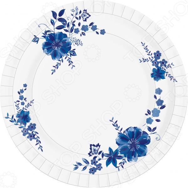 Набор тарелок одноразовых Duni Laura 173439