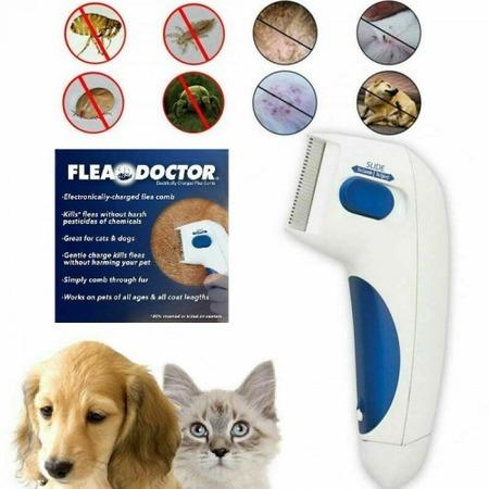 Купить Щетка для вычесывания блох Flea Doctor. В ассортименте