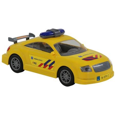 Купить Машинка инерционная игрушечная POLESIE «Скорая помощь»