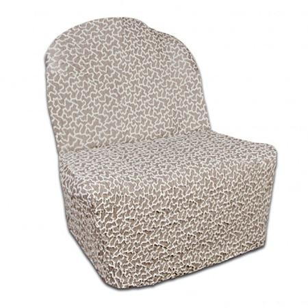 Купить Натяжной чехол на кресло без подлокотников Еврочехол «Жаккард. Сильва»