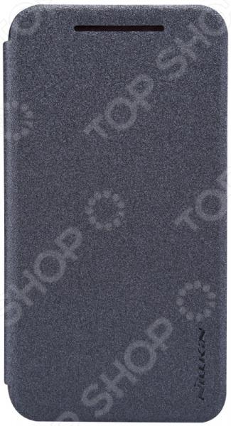 Чехол Nillkin HTC Desire 210 чехол для htc desire 616 nillkin super frosted белый