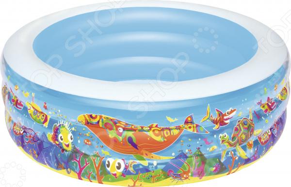 Бассейн надувной Bestway «Подводный мир» 51121B