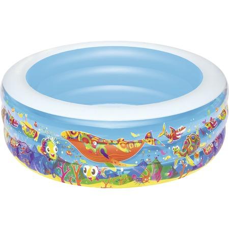 Купить Бассейн надувной Bestway «Подводный мир» 51121B