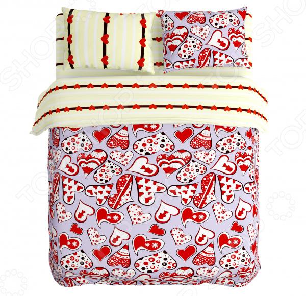 Комплект постельного белья Сирень «Любовь»