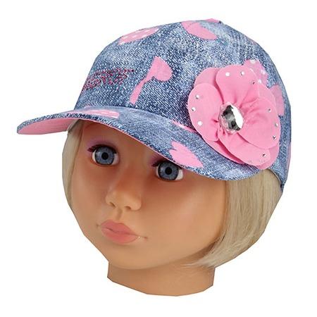 Купить Бейсболка для девочек Shapochka Jeans. Цвет: розовый