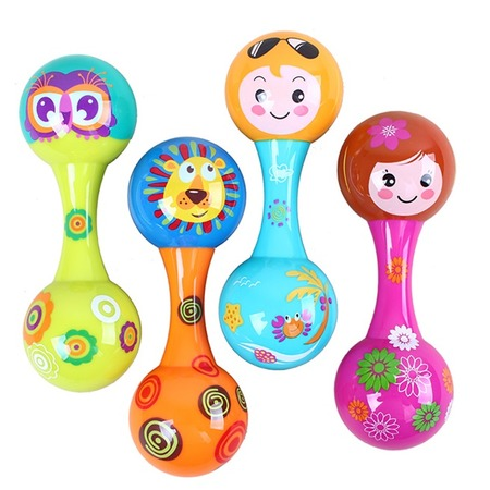 Купить Игрушка-погремушка Huile Toys «Маракас». В ассортименте