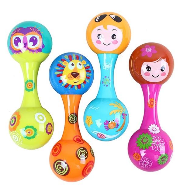 фото Игрушка-погремушка Huile Toys «Маракас». В ассортименте
