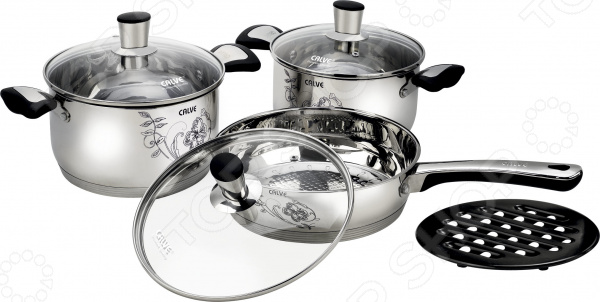 Набор посуды Calve CL-1847