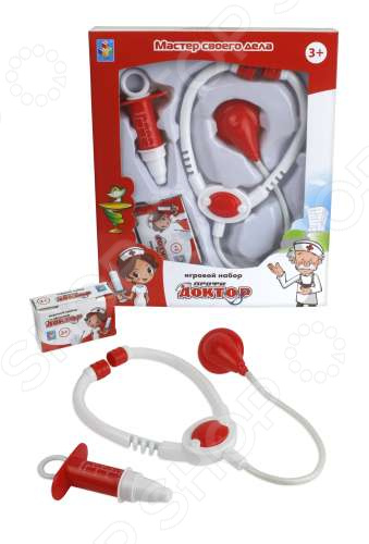 Игровой набор для ребенка 1 Toy «Профи Доктор» 1 toy детский игровой набор доктор арт т56708
