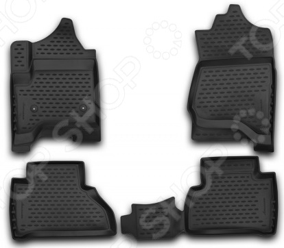Комплект 3D ковриков в салон автомобиля Novline-Autofamily Cadillac Escalade 2015 игрушка hoffmann cadillac escalade 1 24 48069