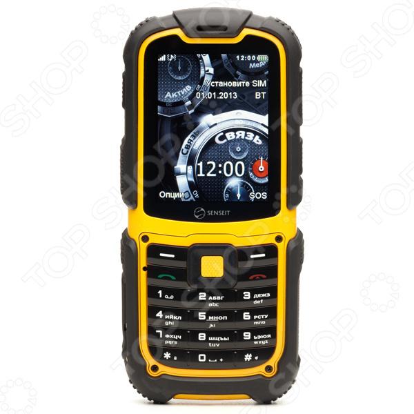 Мобильный телефон защищенный SENSEIT 3 защищенный телефон с рацией и gps