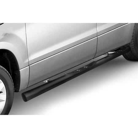 Купить Защита штатных порогов Arbori с проступями для Suzuki Grand Vitara, 2012
