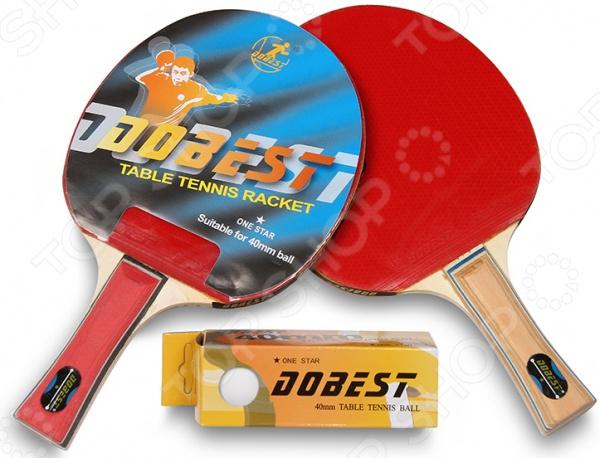 Набор для настольного тенниса DoBest BR20 1 1