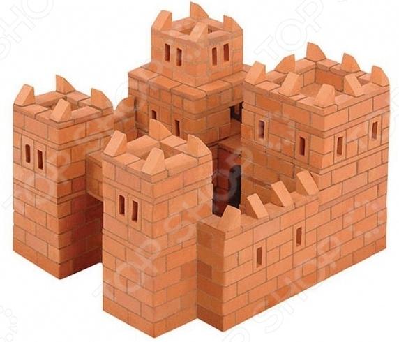 Конструктор из глины Brick Master 101 «Замок» brick master кирпичики беседка