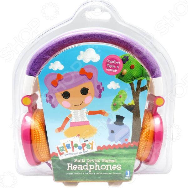 Наушники накладные Jazwares Lalaloopsy Peanut Big Top Headphones