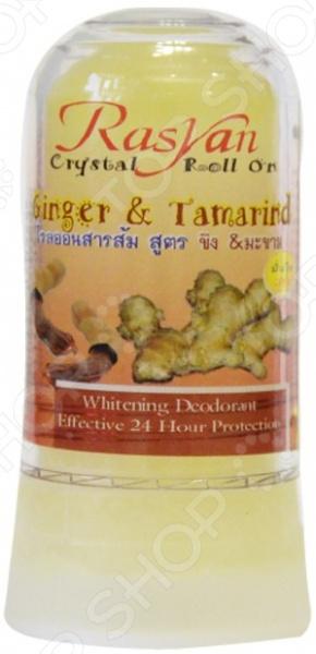 Crystal Ginger & Tarmarind Дезодорант-стик для нормальной и чувствительной кожи Rasyan Crystal Ginger & Tarmarind