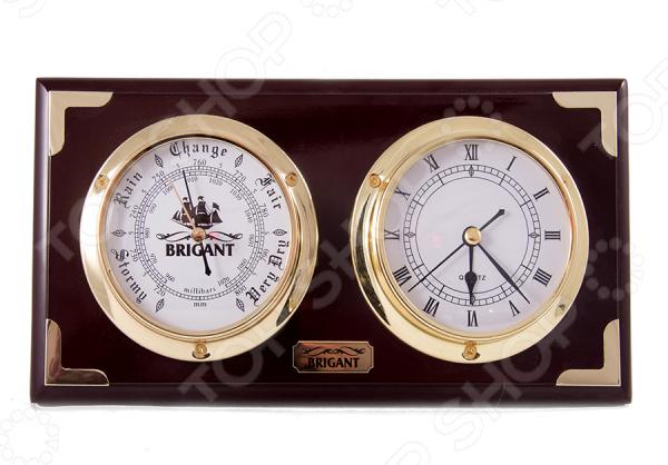 Часы-барометр настенные Brigant 28110
