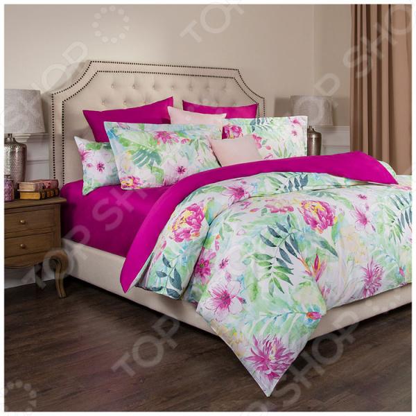 Комплект постельного белья Santalino «Тропикана» комплекты белья linse комплект белья