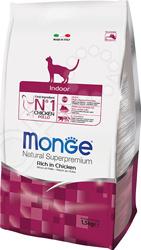 Корм сухой для домашних кошек Monge Indoor Rich in Chicken