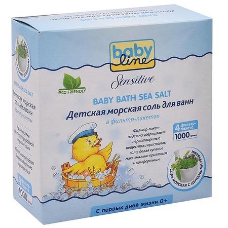 Купить Соль для ванны Babyline Sensitive с целебными травами